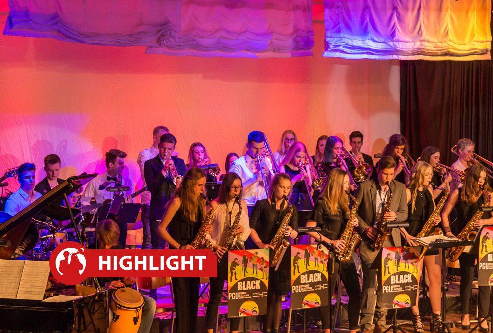"""Jazzpool NRW – PGU Bigband & Matthias Nadolny & Canzone """"Italienische Freunde"""""""