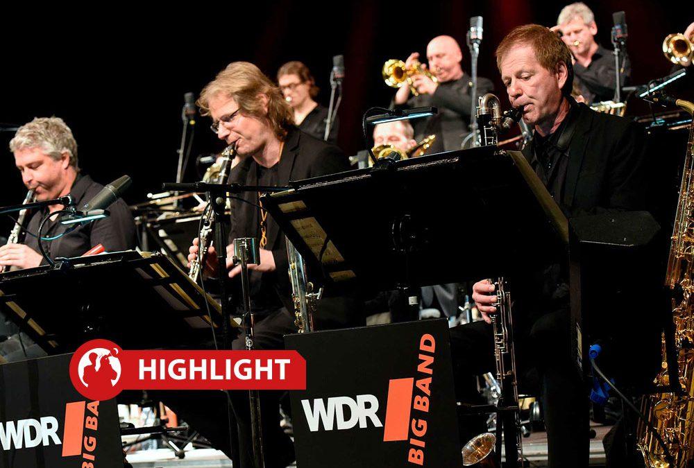 "Highlight – Eröffnungskonzert: WDR Bigband ""FAREWELL John Marshall"""
