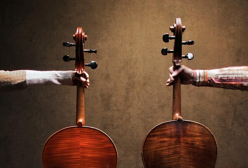Cello trifft Mord – Mord trifft Cello: Celloduo deep strings